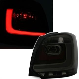 LED ACHTERLICHTEN MET LIGHTBAR VW POLO 6R - SMOKE