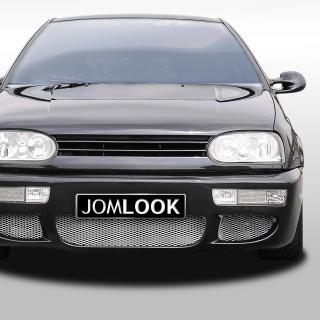 Embleemloze grill VW Golf 3 Zwart