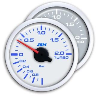 Turbodruk meter - Wit