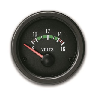 Voltmeter - Yountimer Zwart