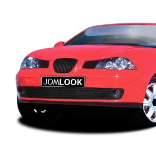Embleemloze grill Seat Ibiza 6L 2002-2008 Zwart