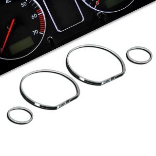 Chromen tellerringen VW Golf 3, Polo 6N, Vento