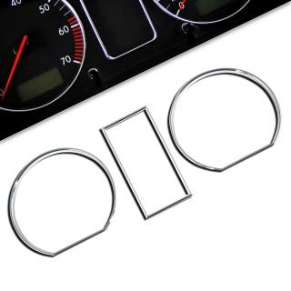 Chromen tellerringen  VW Golf 2