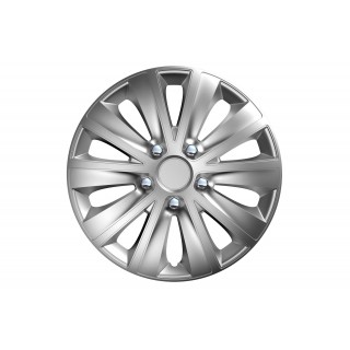 Wieldoppen set Rapide NC Chroom/Zilver - 15 inch