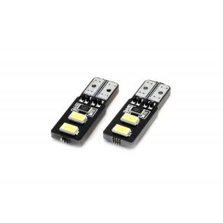 T10 LED Stadslicht met CanBus - 4 SMD Leds