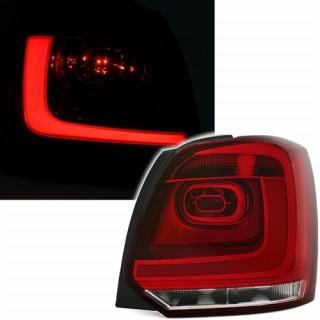 LED Achterlichten met Lightbar VW POLO 6R - Rood/Wit