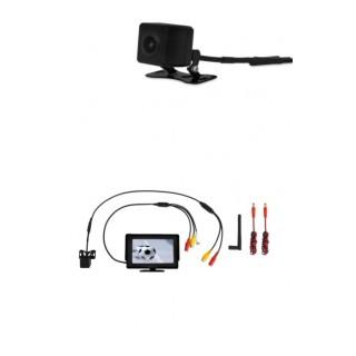 Draadloze camera met monitor / parkeerhulp / achteruitrijcamera