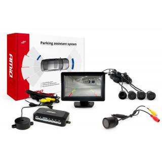 Parkeersensoren / Parkeerhulp met LCD scherm en Night vision Camera HD-301-IR