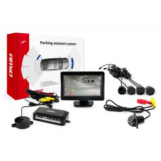 Parkeersensoren / Parkeerhulp met LCD scherm en Camera HD-305