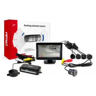 Parkeersensoren / Parkeerhulp met LCD scherm en inbouw nightvision Camera