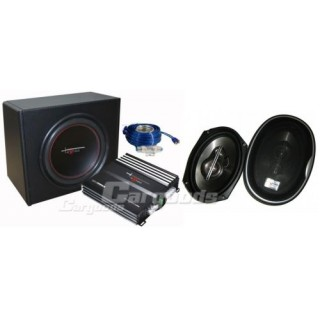 Excalibur X2.2 Trunkpackage met 6x9 speakers