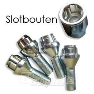 Slotbouten / Wielsloten M12x1,50