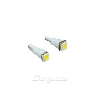 T5 Steeklampen met 1 SMD LED - Wit