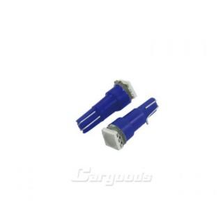 T5 Steeklampen met 1 SMD LED - Blauw
