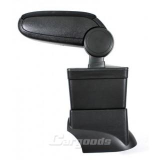 Armsteun Fiat 500 - Zwart stof