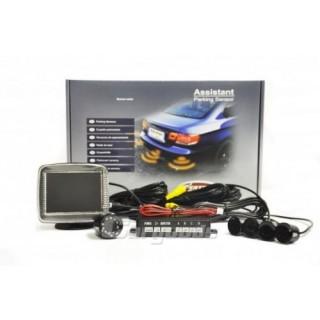 Parkeersensoren met LCD scherm en Night vision Camera