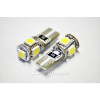 T10 LED Stadslicht met 5 SMD LEDS
