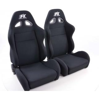 Sportstoelen Sport Style - Zwart met stoelverwarming