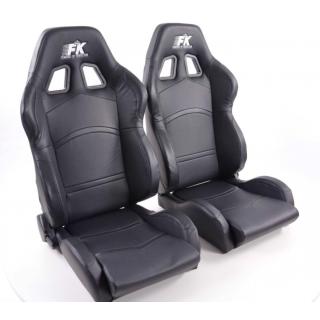 Sportstoelen Cyberstar - Zwart met stoelverwarming