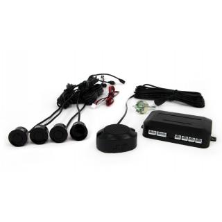 Parkeerhulp / Parkeersensoren met geluid - Zwart