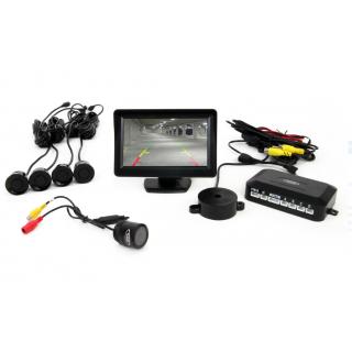 Parkeersensoren / Parkeerhulp met LCD scherm en Night vision Camera