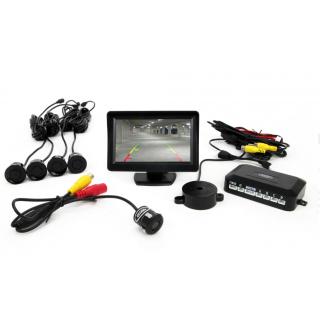 Parkeersensoren / Parkeerhulp met LCD scherm en inbouw Camera