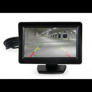 4,3 Inch TFT Scherm voor aansluiting camera