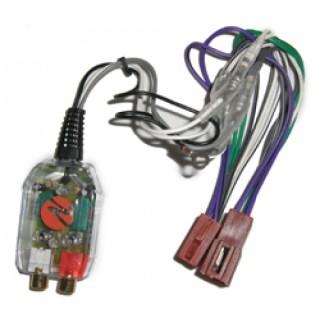 NECOM SIA-P20ISO 2-kanaals High/Low converter met ISO connector